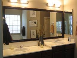 bathroom mirrors separate or one big piece of glass vanity mirrors for 75 nice decorating with framed bathroom vanity mirrors jpg