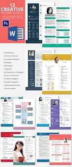 Enchanting Resume Templates Creative Market On Creative Marketing