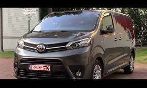 2017 Toyota Proace - Exterior interior and Drive - YouTube