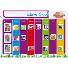 Monkey And Chops Chore Chart