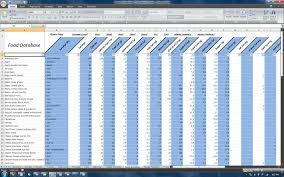 diet spreadsheet meal plan spreadsheet resumess zigy co