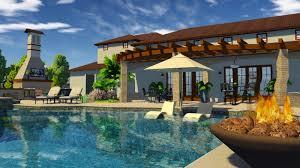 3d swimming pool design software. 3D Swimming Pool Design Software California Residence 3d