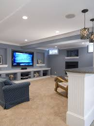 Small Basement Designs Mesmerizing I Like This Bluegrey Color Maybe Even A More Transparent Version