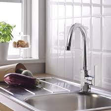 Tap Designs For Kitchens Grohe Feel Kitchen Tap High Spout 0 150 360 Degree Swivel Range