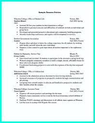 College Student Resume Examples Resume Templates College Resume ...