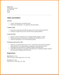 Resume For High School Students With No Experience Enchanting 28 Resume Templates High School Students No Experience Wine Albania