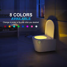 Toilet Bowl Light Rechargeable Toilet Night Light With Waterproof Design Led Toilet Night Light Toilet Bowl Light Motion Activated In Darkness Only
