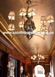 luxury modern moorish chandelier