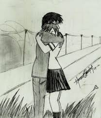 Pencil Sketches Of Couples Pencil Sketches Of Couples In Love Cute Couple Hemant