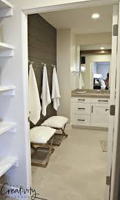 bathroom accent furniture. Painted Shiplap Accent Wall In Bathroom. Bathroom Furniture N