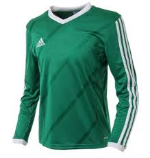 Details About Adidas Youth Tabela 14 Training Soccer Climalite L S Green Kid Shirts G70677