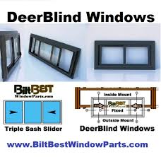 Window Blinds  Windows For Hunting Blinds Hinge Window 2 Making Hunting Blind Window Kits