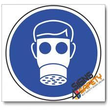 Nosa Sabs Mv2a Respiratory Protection Mandatory Sign