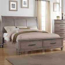 New Classic Bedroom Furniture New Classic La Jolla Queen Storage Bed With Panel Headboard Del