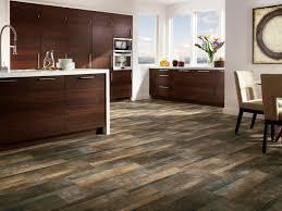 image of vinyl wood plank flooring over tile