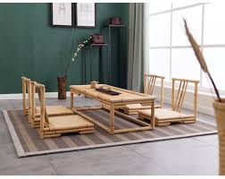 modern japanese furniture. Aliexpresscom Buy 5pcsset Modern Bamboo Furniture Sets Floor Table Japanese Style Tatami CoffeeTea Living Room Chairs From E
