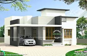single story flat roof house designs 4 bedroom house modern house plans medium size house plans