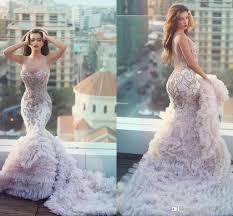 2016 blush pink wedding gowns unique plus size mermaid wedding