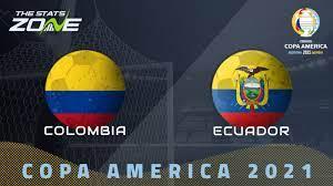 2021 Copa America – Colombia vs Ecuador ...
