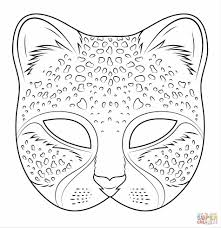 Small Picture Mask Coloring Pages For Kids African Page Home African African
