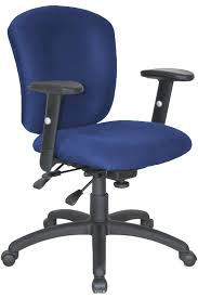 clearance office furniture free. Blue Fabric Adjustable Office Chair With Wheels Clearance Furniture Free