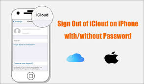 icloud on iphone with without pword