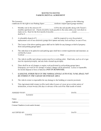 Month To Month Rental Agreement Template Month To Month Parking Rental Agreement Template In Word And