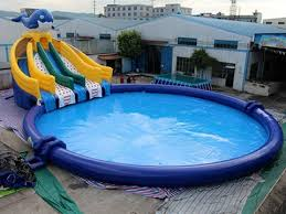 large blue inflatable swimming pool for sale if you have an above ground pool slides inflatable pool slide y46 slide