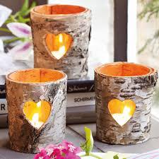 DIY:Fascinating Rustic DIY Wall Art Decor Idea Romantic Rustic Diy Birch  Bark Heart Decor
