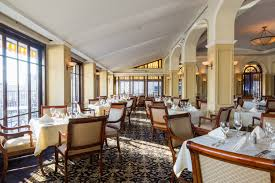 the yale club roof dining room