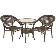 wicker bistro chairs. Contemporary Bistro Bestselling Wicker Bistro Set 3Piece On Chairs L