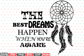 Dream Catcher Sayings Dream Catcher The Best Dreams Happen When You're Awake Quote 10