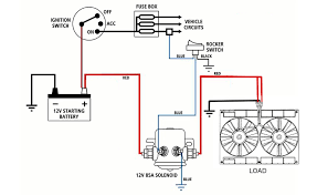 continuous duty dual battery isolator solenoid 85a amp switch 12v some example diagrams