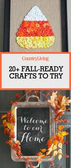 Small Picture 25 Best Fall Crafts Easy DIY Home Decor Ideas for Fall