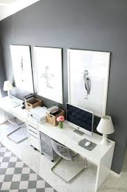 ikea office furniture. Ikea Office Table Desk Setup In Home For Two Decor And . Furniture