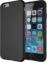 iphone 6 black case. amazon.com: iphone 6s case, diztronic full matte soft touch slim-fit flexible tpu case for apple 6 \u0026 (4.7\ iphone black e