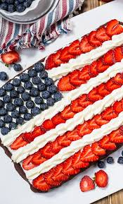 brownie flag recipe y southern