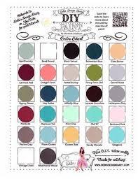 Diy Paint Color Chart Debis Diy Paint Colour Chart In 2019 Diy Painting Chalk