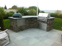 outdoor kitchen with green egg big green egg outdoor kitchen design ideas pleasing plans home wallpaper