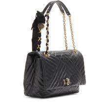 Lyst - Lanvin Happy Large Quilted Leather Shoulder Bag in Black & Gallery Adamdwight.com