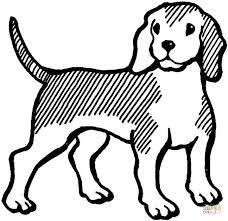 Disegno Di Beagle Da Colorare Disegni Da Colorare E Stampare Gratis