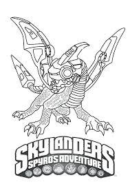 Giants Coloring Pages Colouring Skylanders Spyro Crusher Page Games