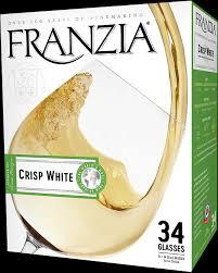 Crisp White Franzia Wines
