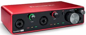 Купить <b>Аудиоинтерфейс FOCUSRITE SCARLETT 4I4</b> 3rd Gen с ...
