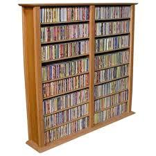 venture horizon double wall media storage rack ikea lerberg cd dvd wall shelf white venture horizon