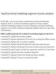 Technical Marketing Engineer Sample Resume top224technicalmarketingengineerresumesamples224lva224app62249224thumbnail24jpgcb=224243224392242224224 1