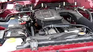 Nissan Patrol Y61 SGL TD42 - YouTube