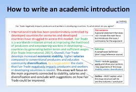 Writing Introductions How To Write An Academic Introduction Academic English Uk