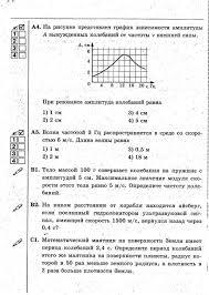 Программа по физике класса учитель Калюжная Н А Год  Контрольная работа № 3 по теме Электромагнитные колебания