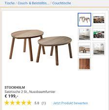 Ikea Stockholm Satztische In 5233 Humertsham Für 9900 Zum